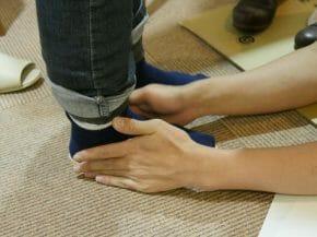 靴が合わない(外反母趾などにオーダーメイドシューズ、インソールが作れます。)
