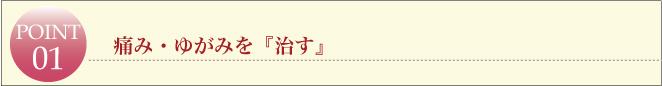 滋賀県草津市の整体ライフスタイルカイロプラクティック・痛み・ゆがみを『治す』