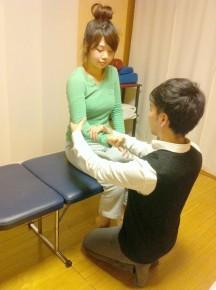 滋賀県草津市の整体院カイロプラクティック 筋力検査