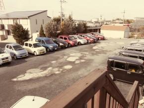 ライフスタイルカイロプラクティック新しい駐車場その1